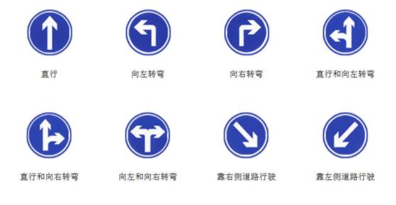 万博万博体育官网智能:各类型道路万博manbetx官方登陆指示牌讲解